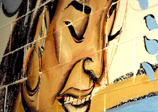 Corey Barksdale Mural Wall Art African American Muralist ...