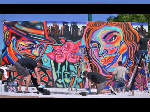 Corey Barksdale Mural Wall Art African American Muralist