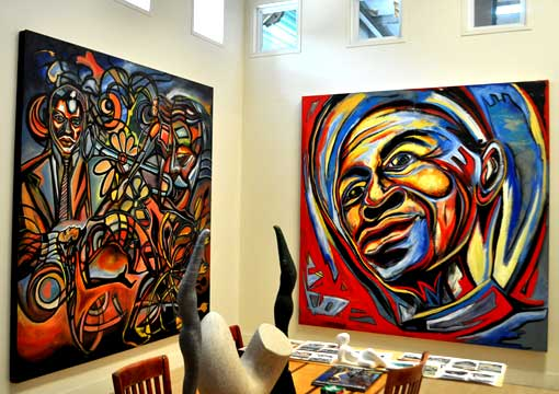 Corey Barksdale African American Art Gallery Atlanta Georgia