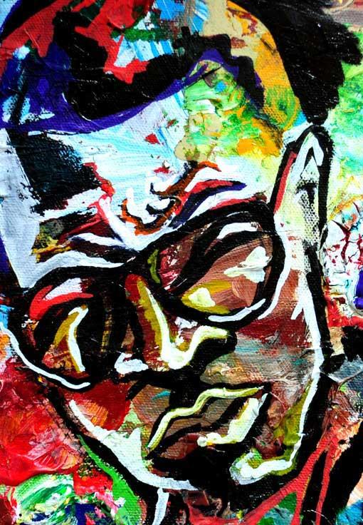 Ti Portrait Painting Hip Hop Art Portrait