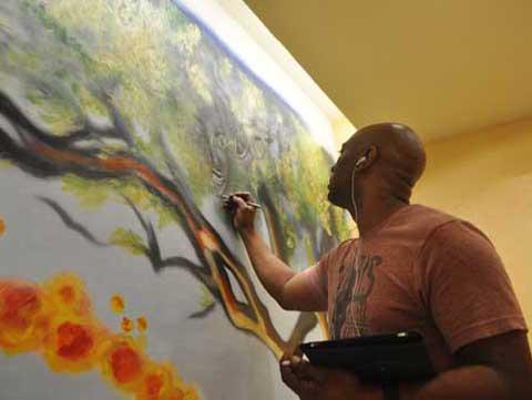 African American Art Paintings - Black Artist Paintings - AFRICAN ...