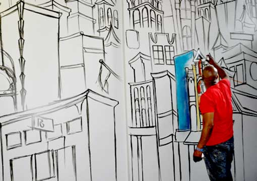 Mural Painting, Art in Atlanta, Atlanta Art Galleries, Atlanta Murals, Atlanta Muralist, Fine Arts Muralist, Wall Canvas Art, New York Contemporary, Big Art, Tennessee Mural, Large Format Art, Nashville Art Murals, Savannah Art, Texas Art, Dallas Mural Art, Houston Art, Atlanta Mural Art, Paducah Kentucky Art, Austin Visual Artist, Phoenix Mural Art, Arizona Muralist Art, Atlanta Large Mural Art