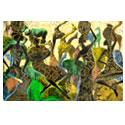 African Art Women tribal saharan art african art decorative fine art designs