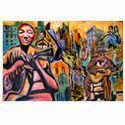 Atlanta Art Fine Art Atlanta City Scene urban art city art hip-hop art creative fine city black art