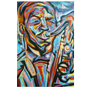 Atlanta Jazz Artist atlanta art painting art atlanta artist georgia art painting commission art in atlanta