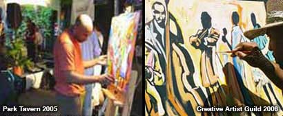 Art Event Performance, Live Art Painting, Atlanta Performance Art, Live Crowd Audience, Fine Art Painting Art Gallery, African American Performance Artist, Atlanta Performing Arts Events